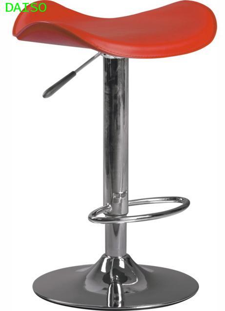 เก้าอี้บาร์สตูลปรับระดับได้/ BCD-141 เก้าอี้บาร์เบาะหุ้มหนังเทียม
