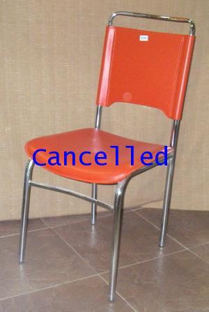 เก้าอี้เหล็กชุบโครเมี่ยม/เก้าอี้ เก้าอี้เหล็กชุบโครเมี่ยม - CD-188 เลิกผลิตแล้ว