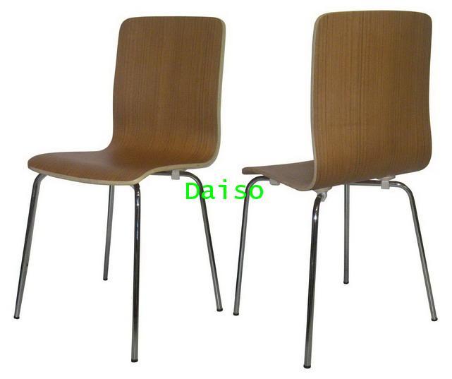 เก้าอี้ไม้วีเนียร์โชว์ลายไม้/DVN-222_เก้าอี้ไม้วีเนียร์
