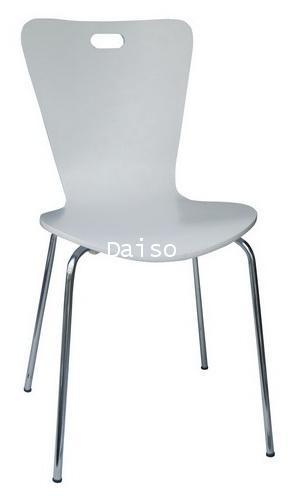 เก้าอี้สีขาว/DVN-228