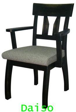 เก้าอี้ไม้ยางขูดเสี้ยน DPC-081