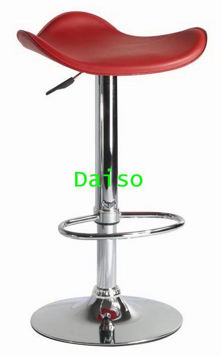เก้าอี้บาร์ BCD-141/เก้าอี้บาร์ที่นั่งไม้หุ้มหนังเทียม