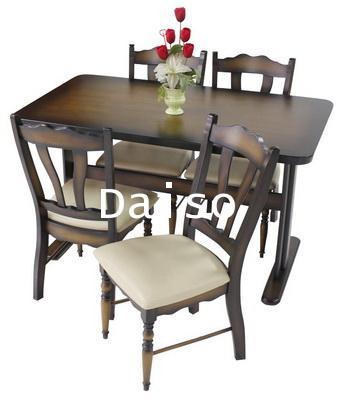ชุดโต๊ะอาหาร/ชุดโต๊ะทานอาหารไม้