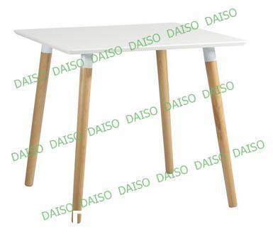 โต๊ะอาหารสไตล์โมเดิร์นสีขาว