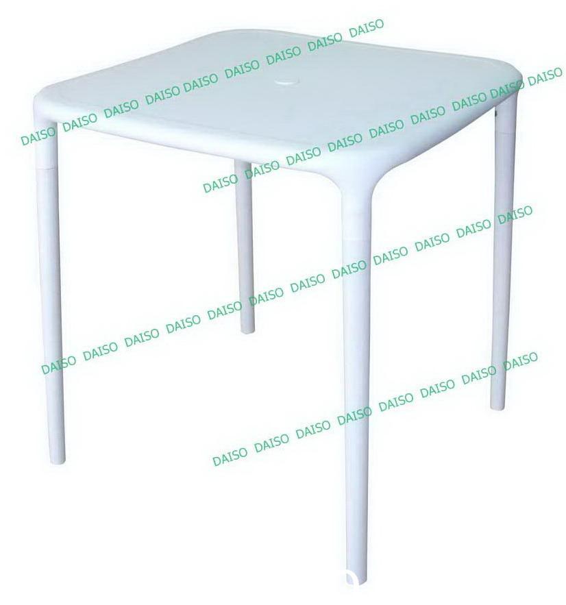 โต๊ะพลาสติกสีขาวนวล T-139