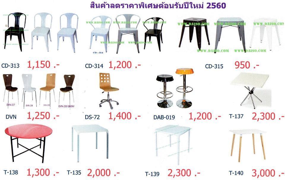 จำหน่ายเก้าอี้เหล็ก เก้าอี้ร้านอาหาร ลดราคาพิเศษ