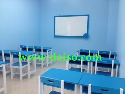ชุดโต๊ะนักเรียนไม้ยางพารา S-150 1