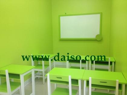 ชุดโต๊ะนักเรียนไม้ยางพารา S-150 2