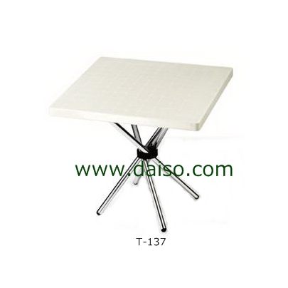 โต๊ะพลาสติกพับได้ T-137