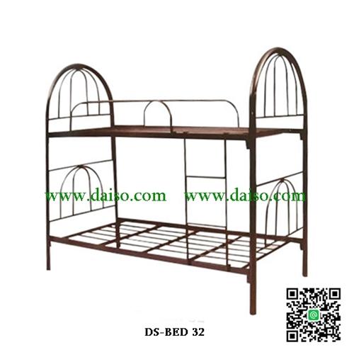 เตียงเหล็ก2ชั้น เตียงนอนเหล็ก2ชั้น ขนาด 3 ฟุต DS-BED 32