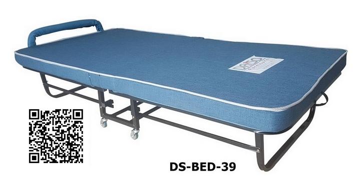 ขาย เตียงพับได้ เตียงเหล็กพับได้ เตียงนอนเหล็กพับได้มีล้อ เตียงเสริมเหล็กพับได้