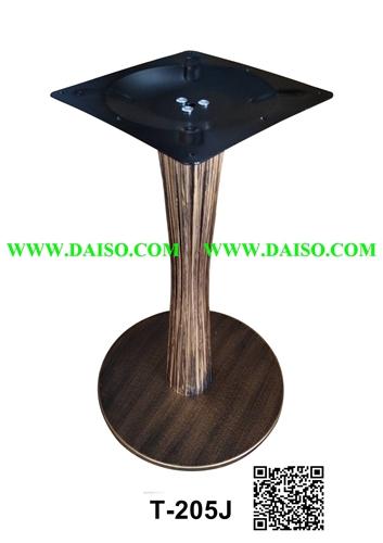 ขาโต๊ะเหล็กหล่อ ทำสีทอง สีสนิม T-205J