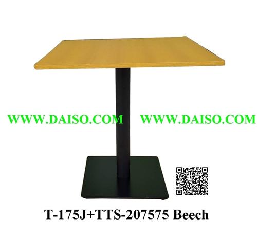 ขาโต๊ะพร้อมหน้าโต๊ะ / โต๊ะรับประทานอาหาร / T-175J+TTS-207575 Beech