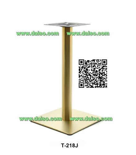 ขาโต๊ะสแตนเลส ทำสีทอง / ขาโต๊ะรับประทานอาหาร/  T-218J