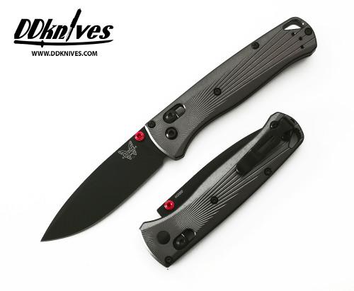 มีดพับ Benchmade Bugout AXIS Folding Knife M390 Black DLC Plain Blade, Aluminum Handles (535BK-4)