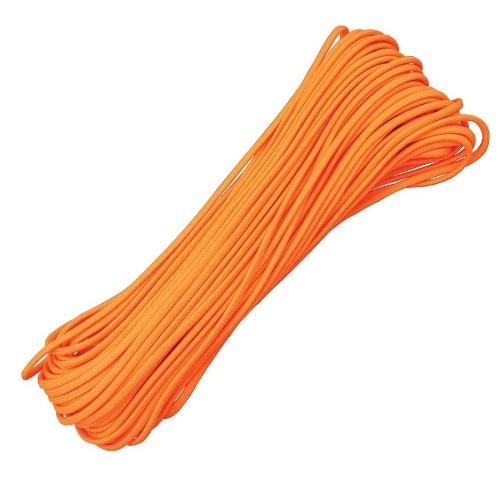 เชือกอเนกประสงค์ Parachute Cord 550 ( Neon Orange)