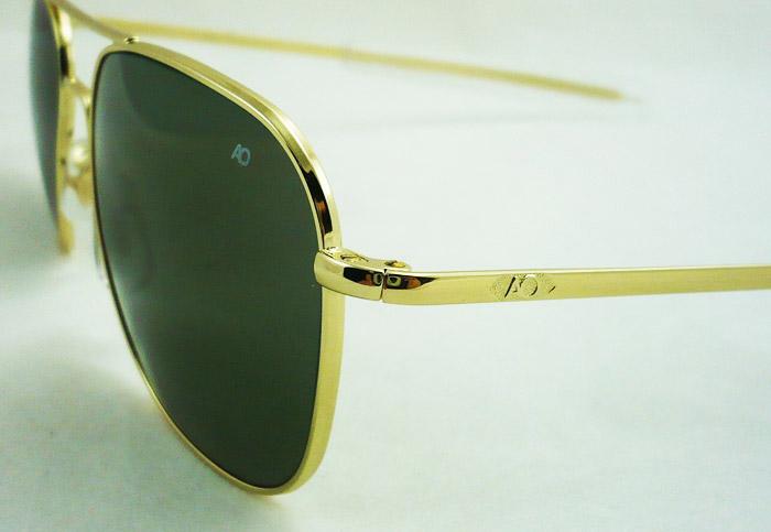 แว่นกันแดด AO Original Pilot /Gold Frame /Size 52 mm. 2
