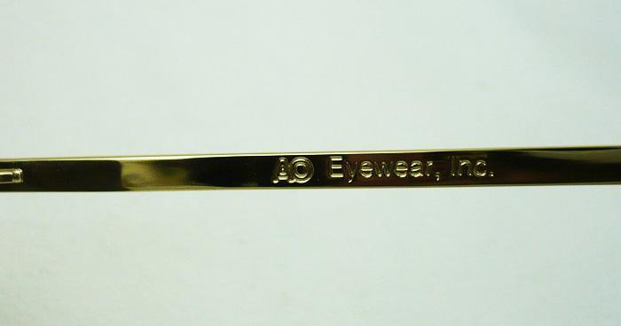 แว่นกันแดด AO Original Pilot /Gold Frame /Size 52 mm. 5