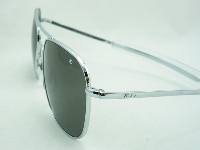 แว่นกันแดด AO Original Pilot /Silver Frame /Size 57 mm. 1