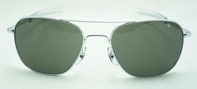 แว่นกันแดด AO Original Pilot /Silver Frame /Size 57 mm. 2