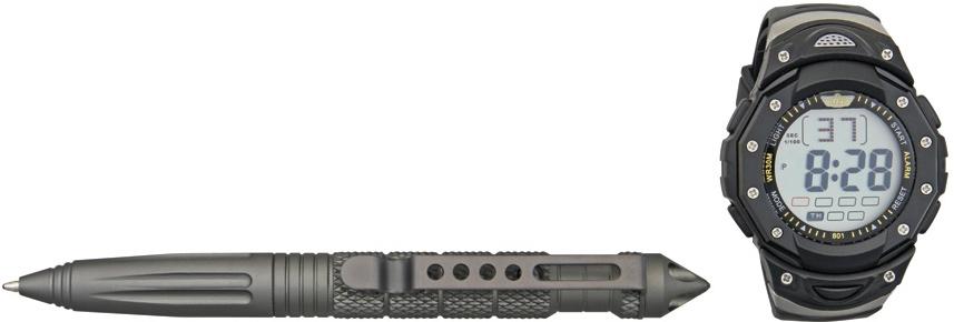 ชุดแพ็คคู่สุดคุ้ม UZI Tactical Pen and Watch