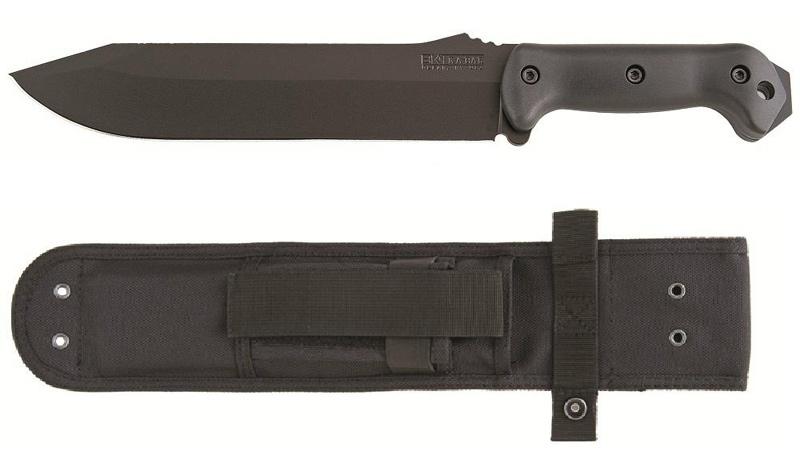 มีดใบตาย KA-BAR BK9 Becker Fixed Combat Bowie Knife Carbon Steel Blade (BK9)