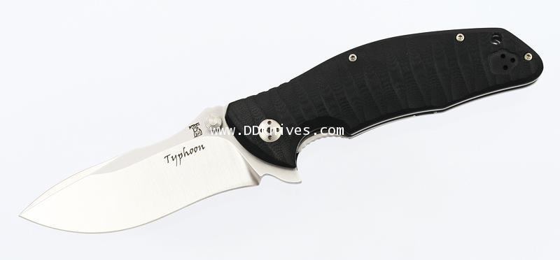 มีดพับ Dendra Typhoon Flipper Folding Knife Satin Plain (DN-1ST G10)