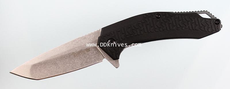 มีดพับ Kershaw FreeFall Assisted Plain Stonewash Blade, Glass Filled Nylon Handles (3840)