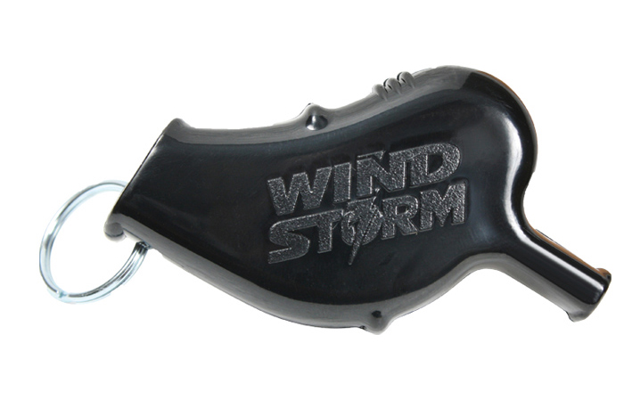 นกหวีด Windstorm Safety Whistle (สีดำ)