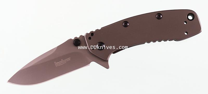 มีดพับ Kershaw Cryo II Assisted Plain Blade, Rick Hinderer Framelock Design (1556TI)