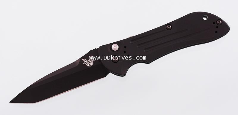 มีดออโต้ Benchmade AUTO Stryker, Black Plain Tanto Blade, Aluminum Handles (9101BK)