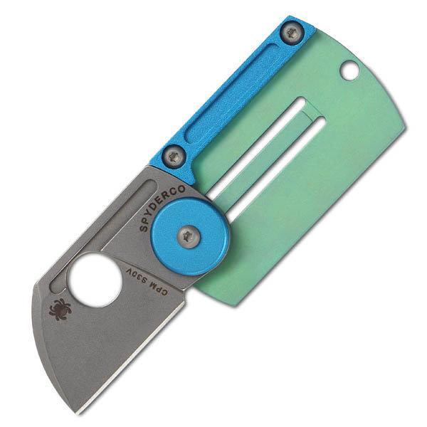 มีดห้อยคอ Spyderco Panchenko Dog Tag Folder Slip Joint Knife (C188ALTIP)