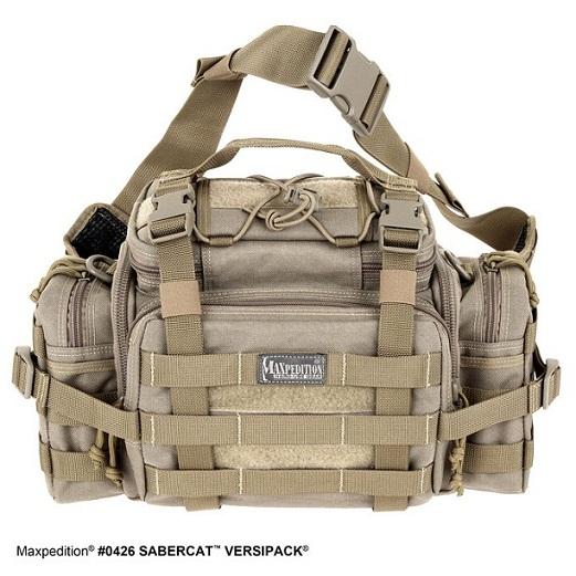 กระเป๋า Maxpedition Sabercat Versipack, Khaki (0426K)
