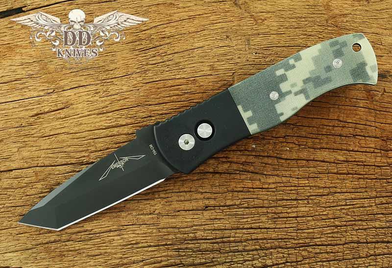 มีดออโต้ Emerson Protech CQC-7 Automatic Knife w/ Digi Camo G-10 (E7T25)