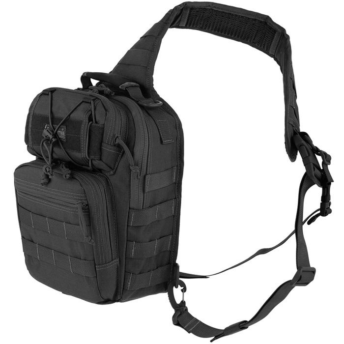 กระเป๋าเป้สะพายหลัง Maxpedition Lunada Gearslinger Bag, Black (0422B)
