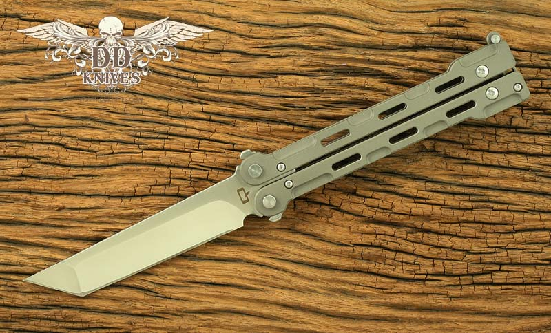 มีดบาลิซอง Quartermaster QBS1 Marty McFly Butterfly Knife, Satin