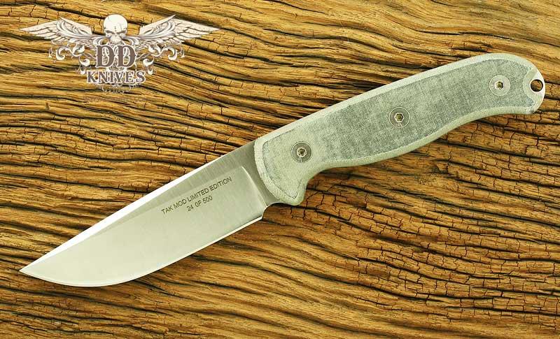 มีดใบตาย Ontario Limited Edition TAK-1 Survival Knife 154CM Steel, Micarta Handles (8602MOD)