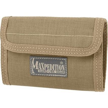 กระเป๋าสตางค์ Maxpedition Spartan Wallet, Khaki (0229K)