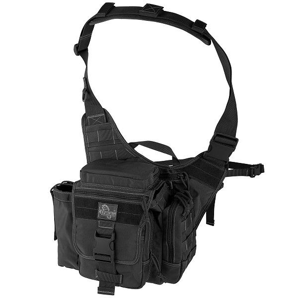 กระเป๋าสะพายข้าง Maxpedition Jumbo E.D.C. (Black)