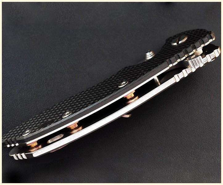 Rick Hinderer Knives 3.5 XM-18 STANDOFFS TI SET OF 3-BRONZE