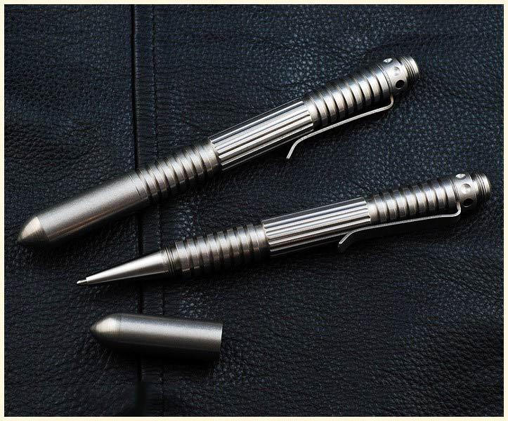 ปากกาแทคติคอล Rick Hinderer Knives Extreme Duty Pen - Stainless Steel