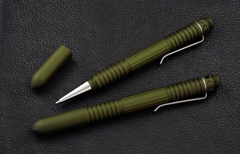 ปากกาแทคติคอล Rick Hinderer Knives Extreme Duty Pen Aluminum, OD Green