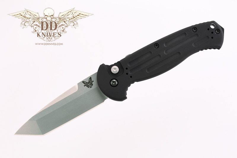 มีดออโต้ Benchmade AFO II AUTO Satin Plain Tanto Blade, Aluminum Handles (9052)
