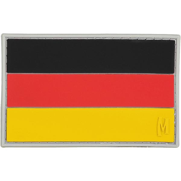 อาร์มติดกระเป๋า Maxpedition Germany Flag Patch, Full Color (DEUTC)