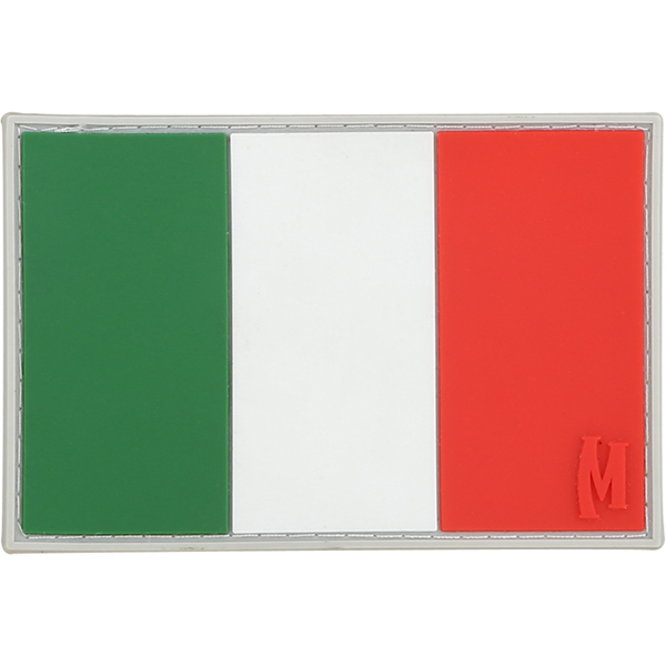 อาร์มติดกระเป๋า Maxpedition Italy Flag Patch, Full Color (ITALC)
