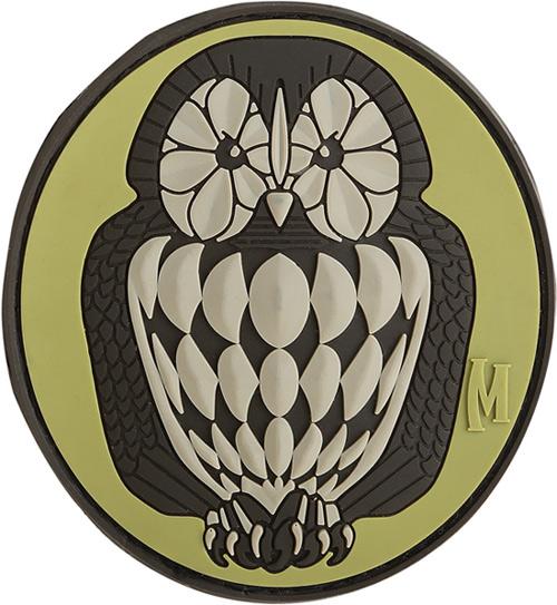 อาร์มติดกระเป๋า Maxpedition Owl Patch, ARID (OWL3A)
