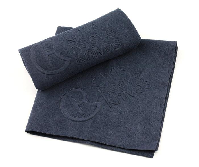 ผ้าไมโครไฟเบอร์สำหรับเช็ดมีด Chris Reeve Knives Microfiber Cloth