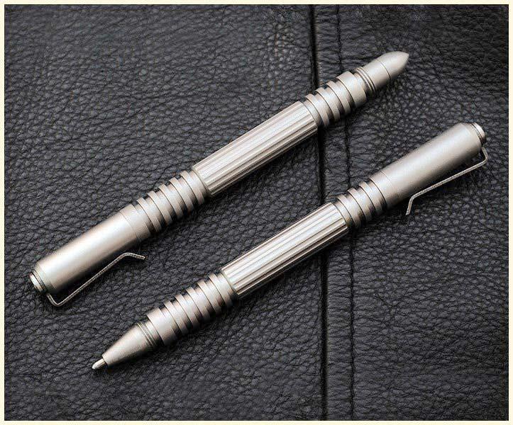 ปากกาแทคติคอล Rick Hinderer Knives Stainless Steel Investigator Pen
