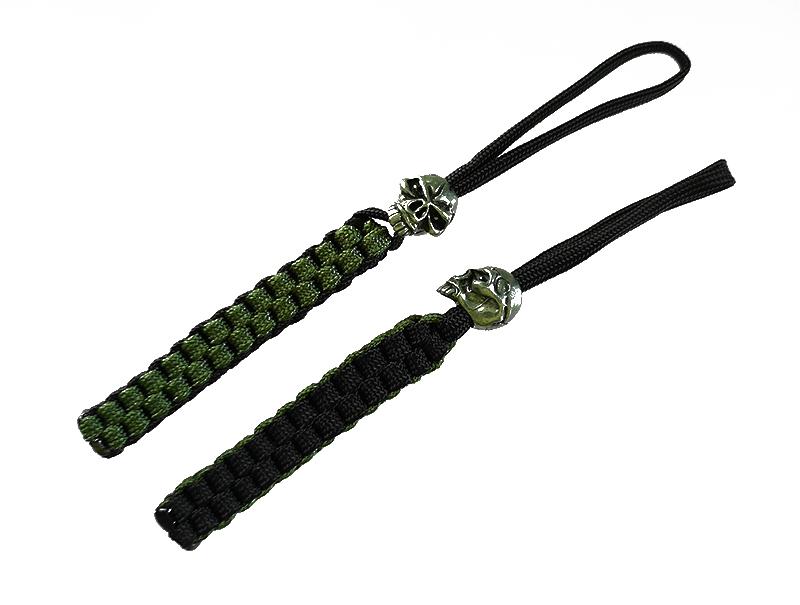 Lanyard สำหรับห้อยมีด Emerson Lethal Edge Lanyard, Green/Black