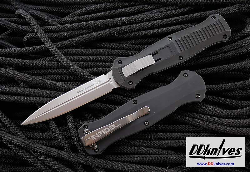 มีดออโต้ OTF Benchmade Infidel AUTO OTF Satin Finish Double Edge Dagger (3300)